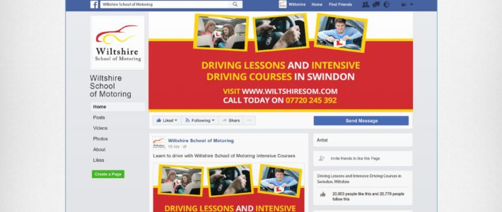 Find us on Facebook: Wiltshire School of Motoring
